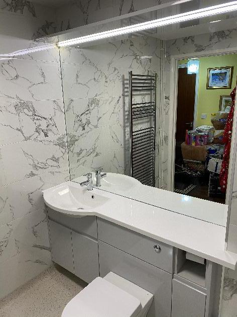 Bathroom upgrade in Winchester