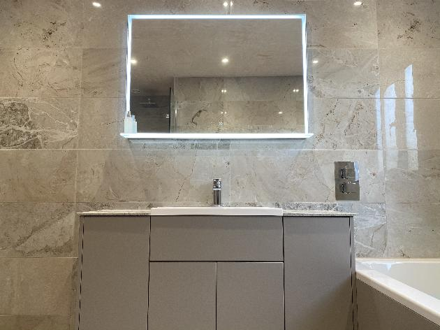 Modern classical bathroom, Durley